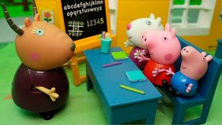 Мультики Для детей с игрушками Свинка Пеппа  - Урок вежливости! НОВИНКА Приключения Игрушек