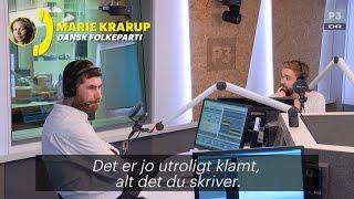 Marie Krarup vil ikke sælge homo-sex til russerne | Tue og Tony | DR P3