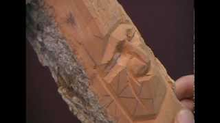 Woodcarving An Indian Face