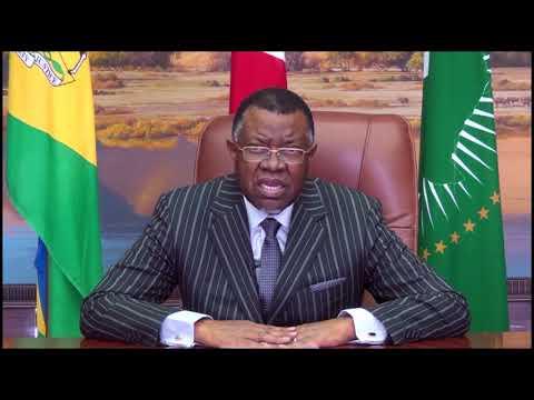 Namibia, President Hage Geingob