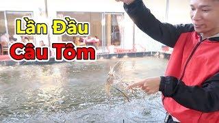 Lâm Vlog - Cuối Tuần Dẫn Cả Đám Đi Câu Tôm và Cái Kết | Shrimp Fishing