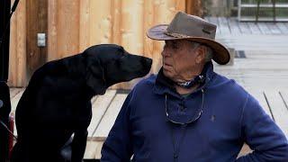 Shadow  2020 HIgh Point Derby Dog with Bill Hillmann