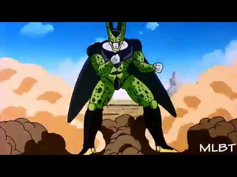 Vegeta vs Perfect Cell part 1 HD (english dubbed)