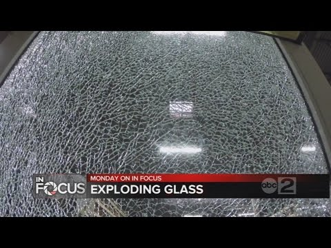 MONDAY on In Focus: Exploding glass a risk for Maryland consumers
