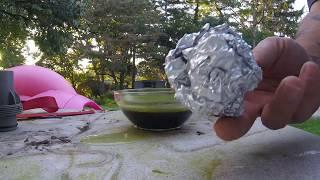 Muriatic acid versus aluminum