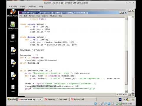 19. ders  nesne tabanlı programlamaoopntp 3. kısım  örnek ve while döngüsü