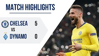 Chelsea vs Dynamo Kiev (3-0) All Goals and Extended Highlights - Europa League - 3/14/19