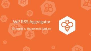 WP RSS Aggregator : Excerpts & Thumbnails Add-on thumbnail