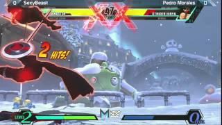 UMVC3: SexyBeast vs Pedro Morales - Alpha Clash 10