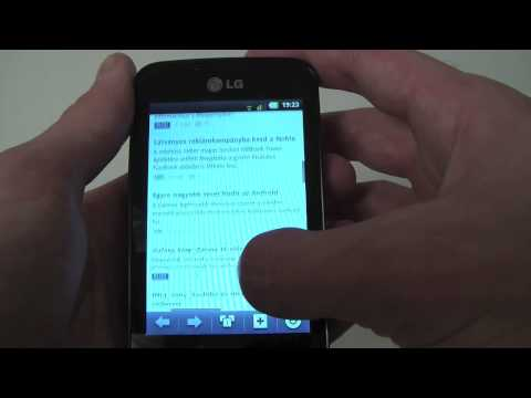LG E510 Optimus Hub review
