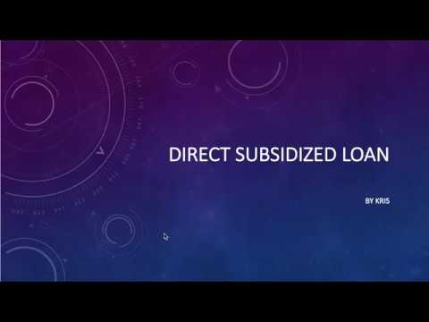 what-is-a-direct-subsidized-loan?