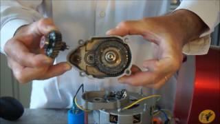 Démontage du moteur du BEE 240