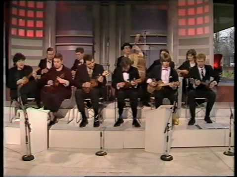 The Ukulele Orchestra of Great Britain: vintage clip from 1988