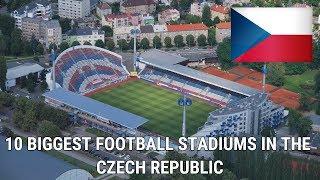 Top 10 Biggest Football Stadiums In Czech Republic