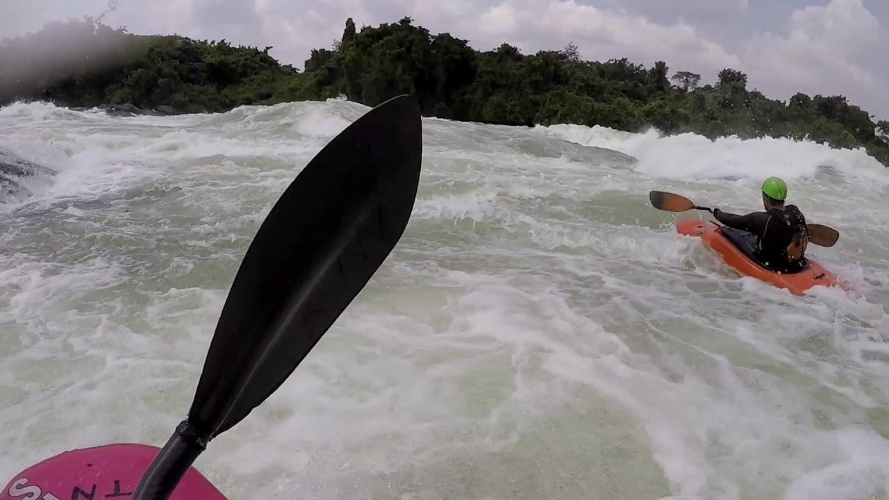 Kayaking the White Nile