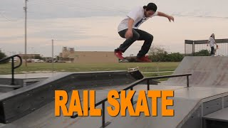 RAIL SKATE Brandon Moore vs Rick Molina SKATE saturdays