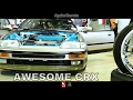 Honda Civic CRX EF8 SiR Modified Exterior and Interior - Borneo Kustom Show 2017