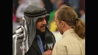 Muhammad Hassan and Shawn Michaels Segment 04.04.2005