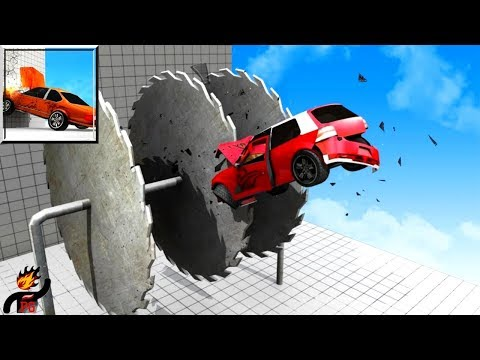 Insane Car Crash - Extreme Destruction (by Million Games) / Android Gameplay HD