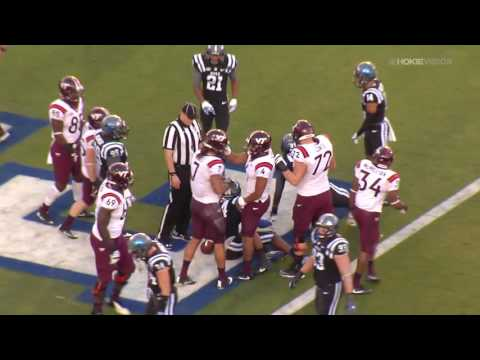 Virginia Tech Football vs Duke - Highlights