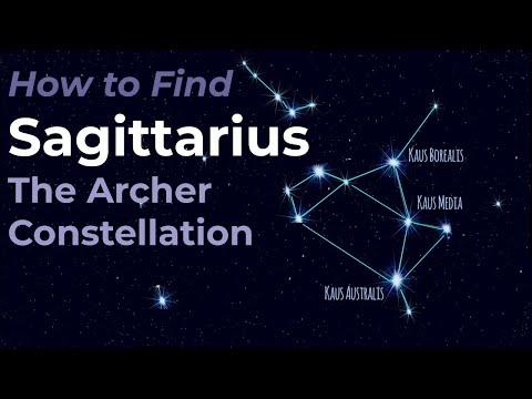 Sagittarius the Archer Constellation