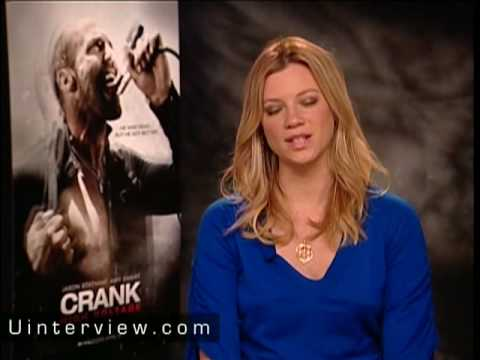 Amy Smart  On Jason Statham, Crank 2