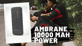 Ambrane 10000 mAh Power Bank P-1144 Review | Unbox Circle