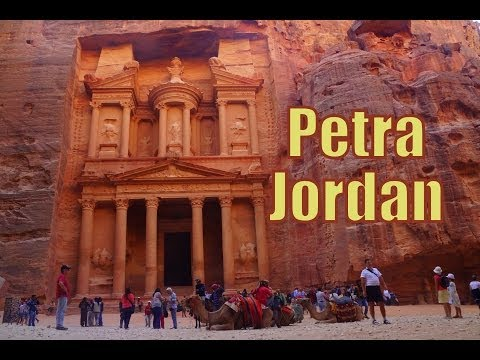 Visiting Petra, Jordan Travel Video (البتراء - Πέτρα) in the archaeological city of Ma'an