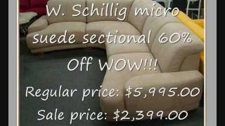 Leather Sofas & Sectionals SALE Discount!.wmv