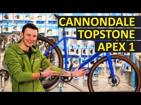 Cannondale Topstone Apex 1 обзор гравийного велосипеда