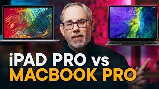iPad Pro vs MacBook Pro — FIGHT!