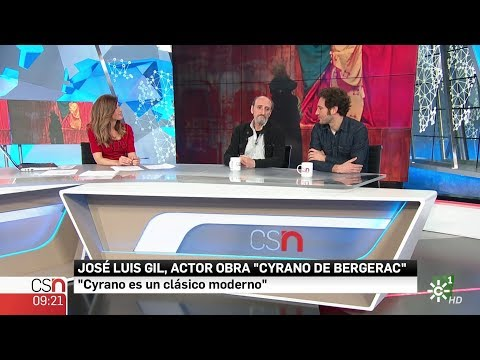 La entrevista  Los actores José Luis Gil y Álex Gadea