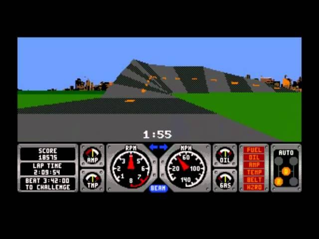 RACE DRIVIN' // SEGA MEGA-DRIVE(Genesis)