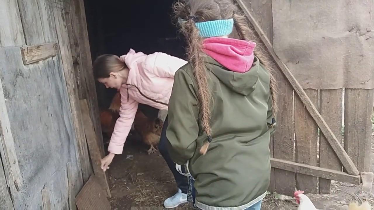 видео девок затащили в сарай