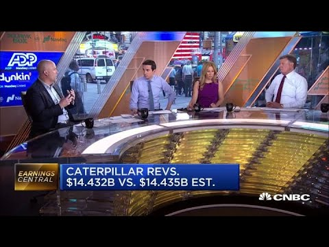 Research analyst: Caterpillar's earnings miss adds to market uncertaintyиз YouTube · Длительность: 2 мин59 с