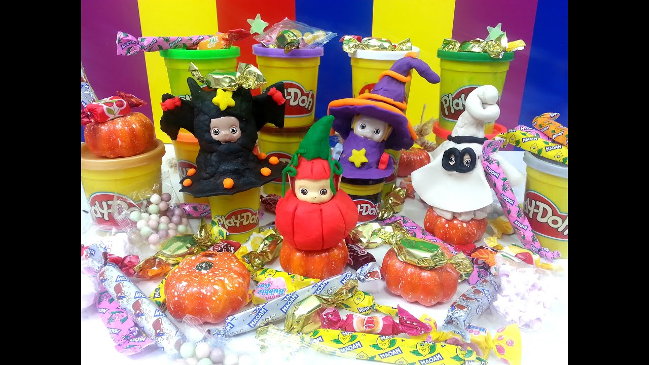 teletubbies play doh how to make halloween playdough dress