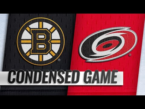 12/23/18 Condensed Game: Bruins @ Hurricanes
