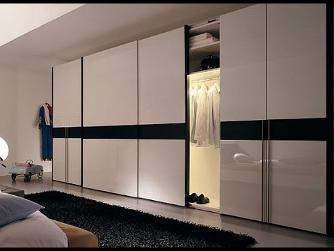 Watch on latest designs of wardrobes in bedroom