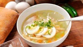Caldo De Pollo Estilo Charco De Las Ranas - Chicken Soup
