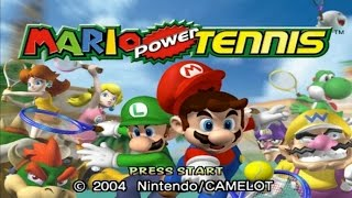 Mario Power Tennis Wii Gameplay