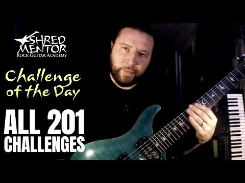 ALL 201 Challenges of the Day! | ShredMentor Challenge of the Day