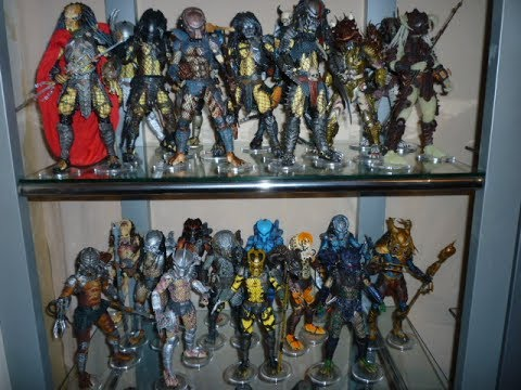 x10  Brand New Action Display Stands for Neca Predator Figures