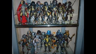 Neca and McFarlane Predator Figure collection Updated 10/06/17