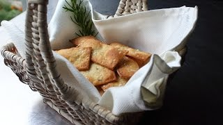 Fancy Crackers - How to Make Flatbread-Style ...