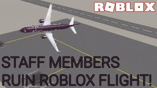 STAFF STAFF DELDL RUIN ROBLOX FLIGHT!
