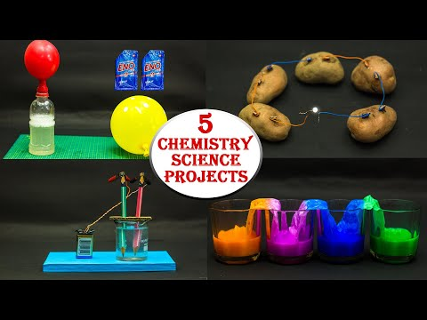 5 Chemistry Science Projects