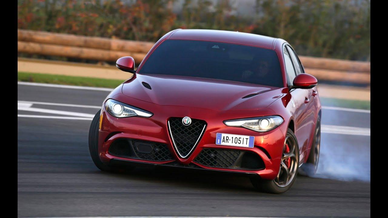 Alfa Romeo Giulia Quadrifoglio na torze