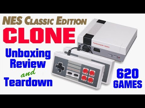 Nes Classic Edition Clone Mini Game Anniversary Edition Entertainment System 620 Games Youtube