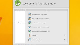 How to Install Android Studio on Windows 10 / Windows 8