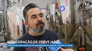Mestre cervejeiro abre fábrica artesanal pra mostrar processo de produção